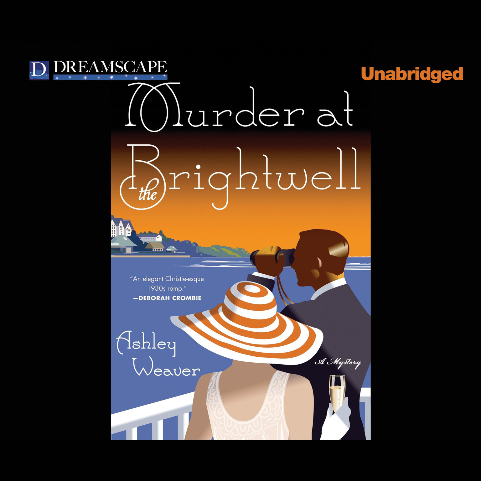 Printable Murder at the Brightwell Audiobook Cover Art
