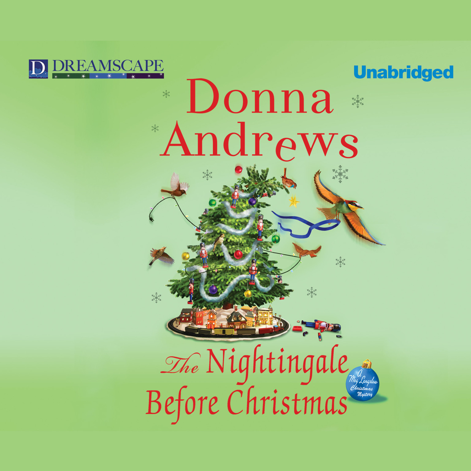 Printable The Nightingale before Christmas: A Meg Langslow Christmas Mystery Audiobook Cover Art