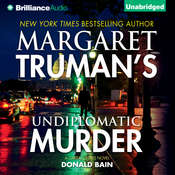 Undiplomatic Murder Audiobook, by Donald Bain, Margaret Truman