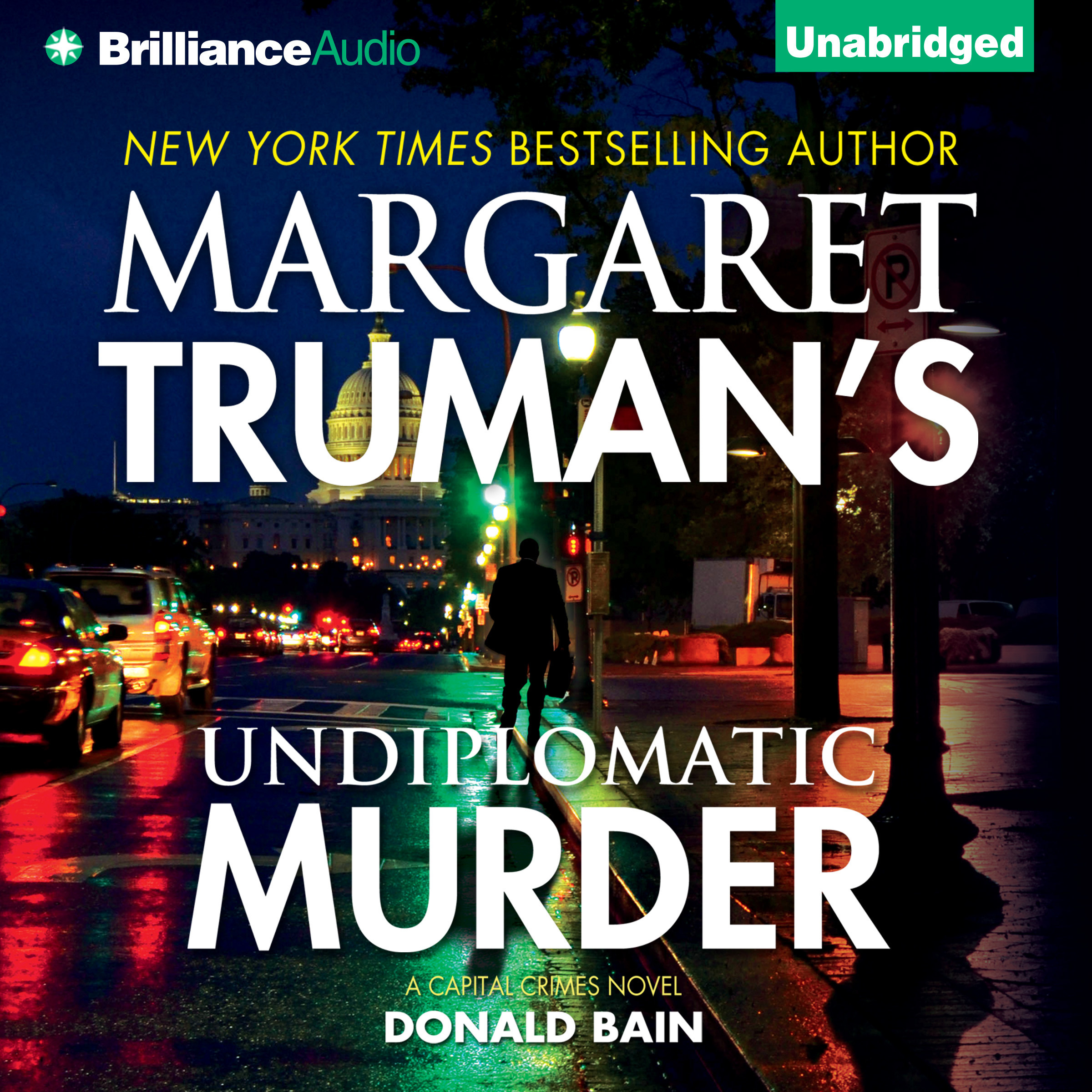 Printable Undiplomatic Murder Audiobook Cover Art