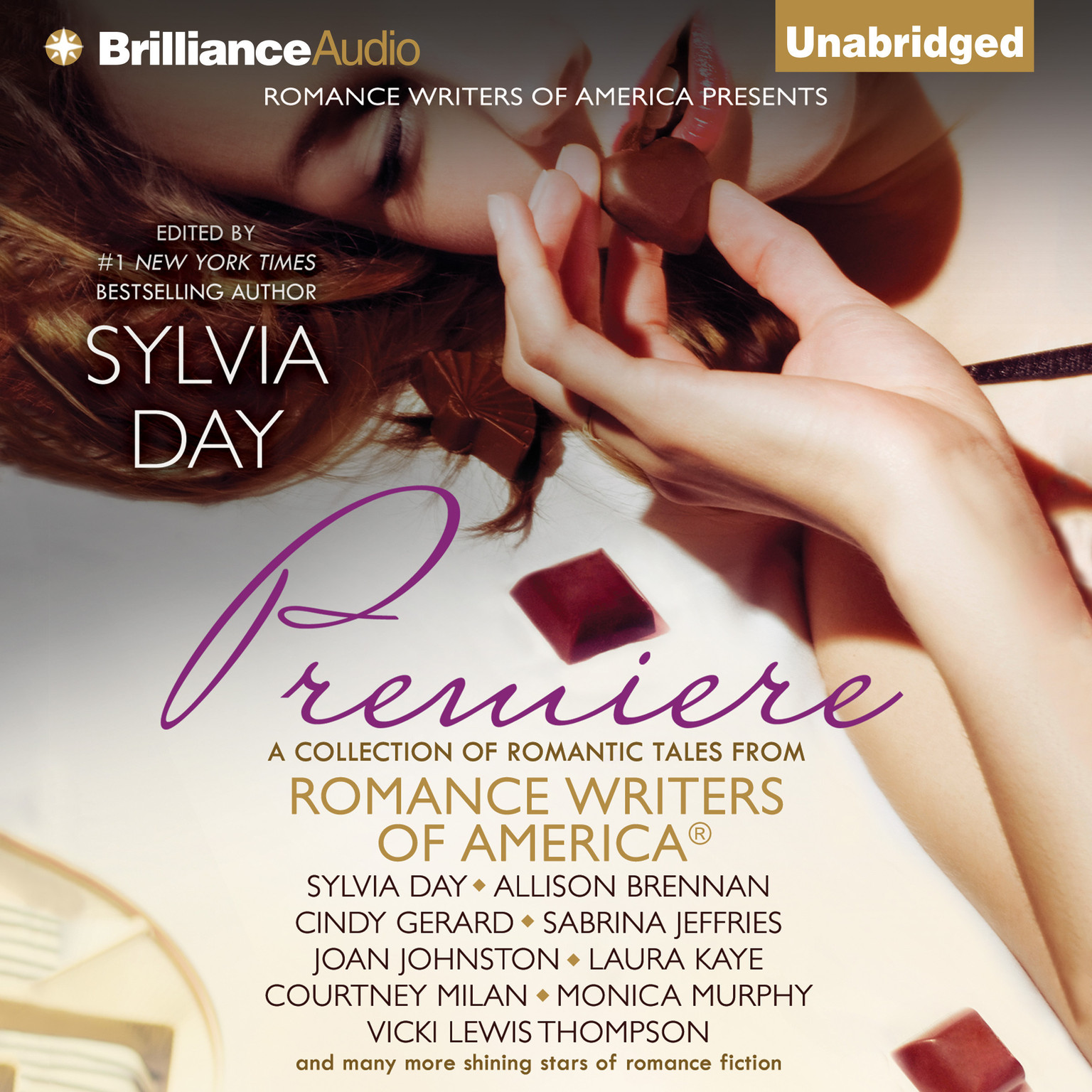 Printable Premiere: A Collection of Romantic Tales from Romance Writers of America Audiobook Cover Art