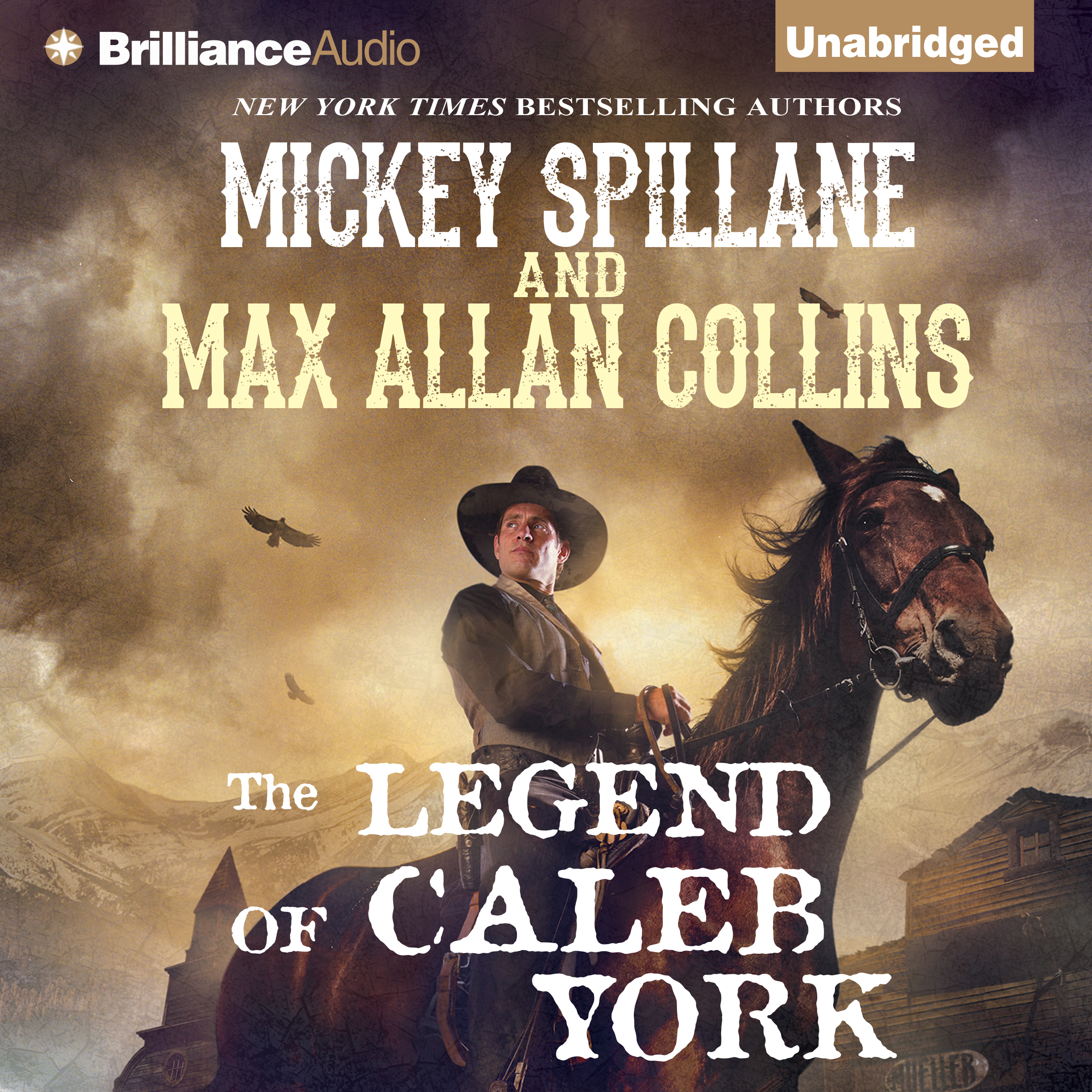 Printable The Legend of Caleb York Audiobook Cover Art