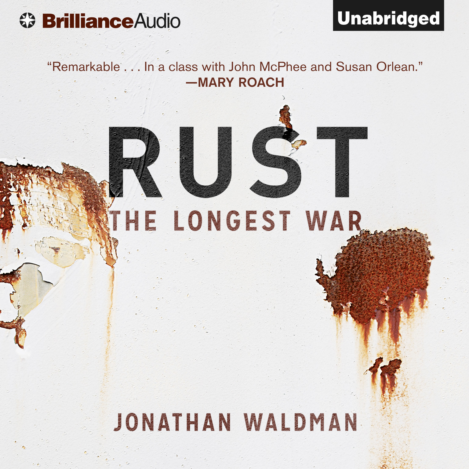 Printable Rust: The Longest War Audiobook Cover Art