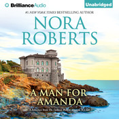 A Man for Amanda: A Selection from The Calhoun Women: Amanda & Lilah, by Nora Robert
