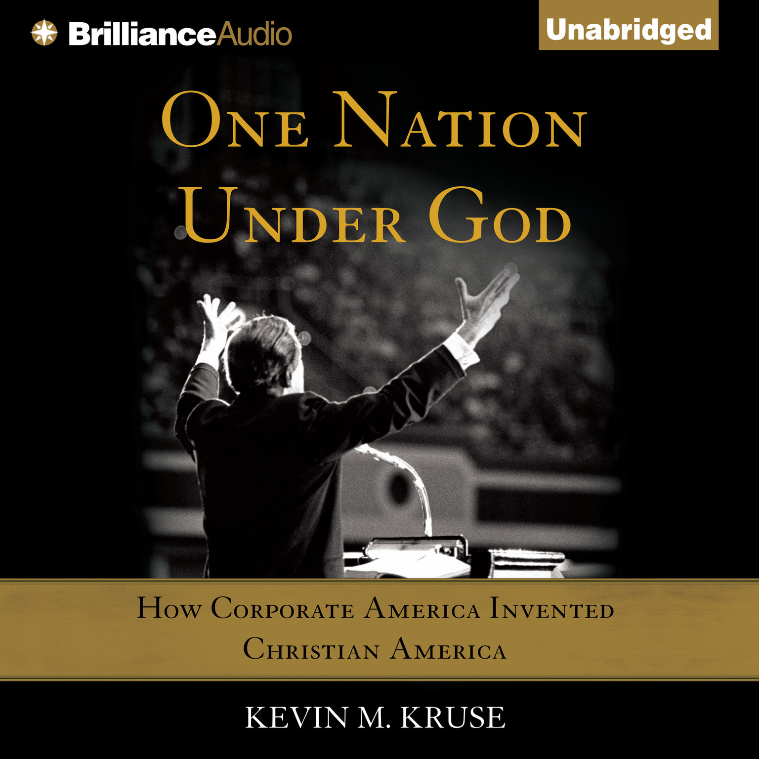 Printable One Nation under God: How Corporate America Invented Christian America Audiobook Cover Art