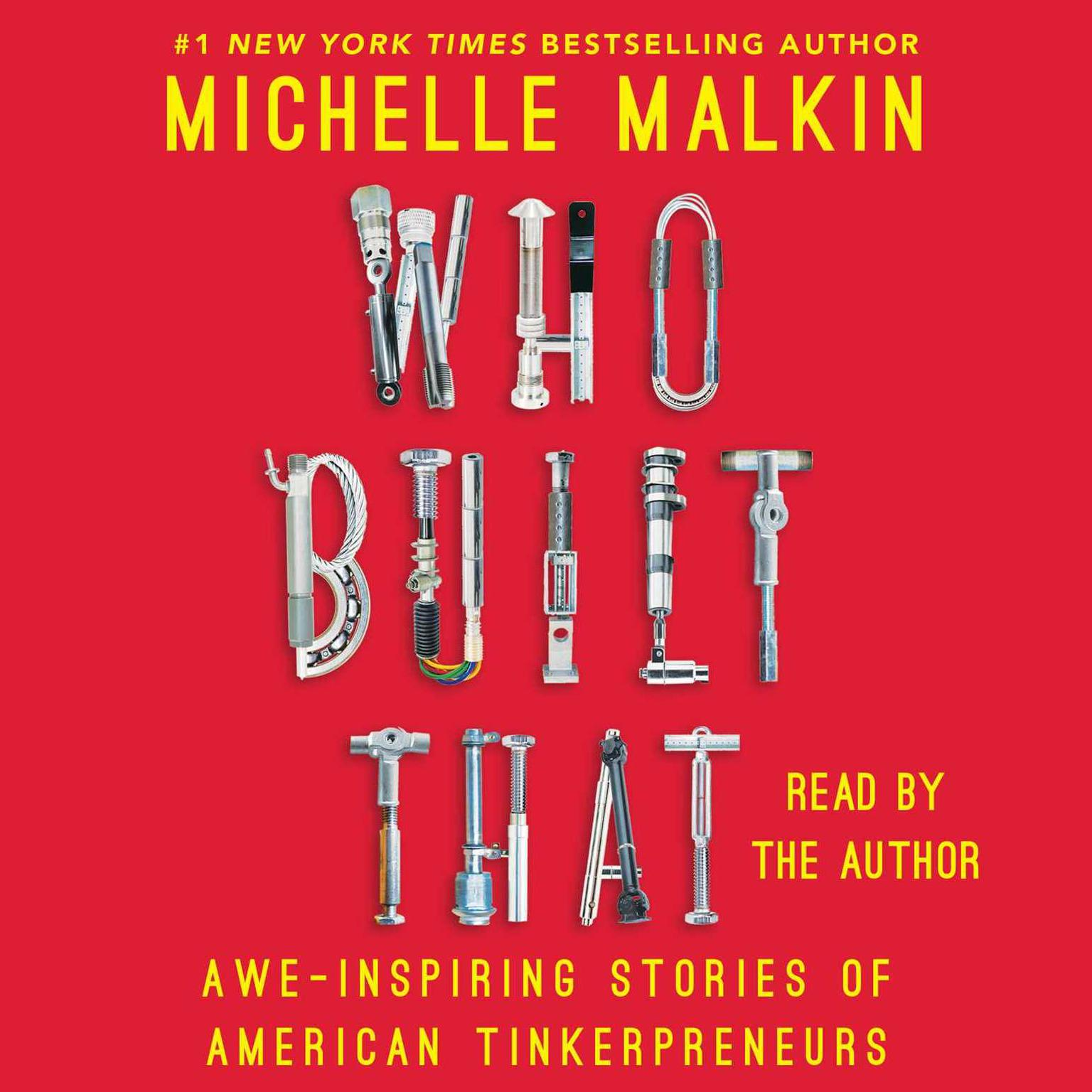 Printable Who Built That: Awe-Inspiring Stories of American Tinkerpreneurs Audiobook Cover Art