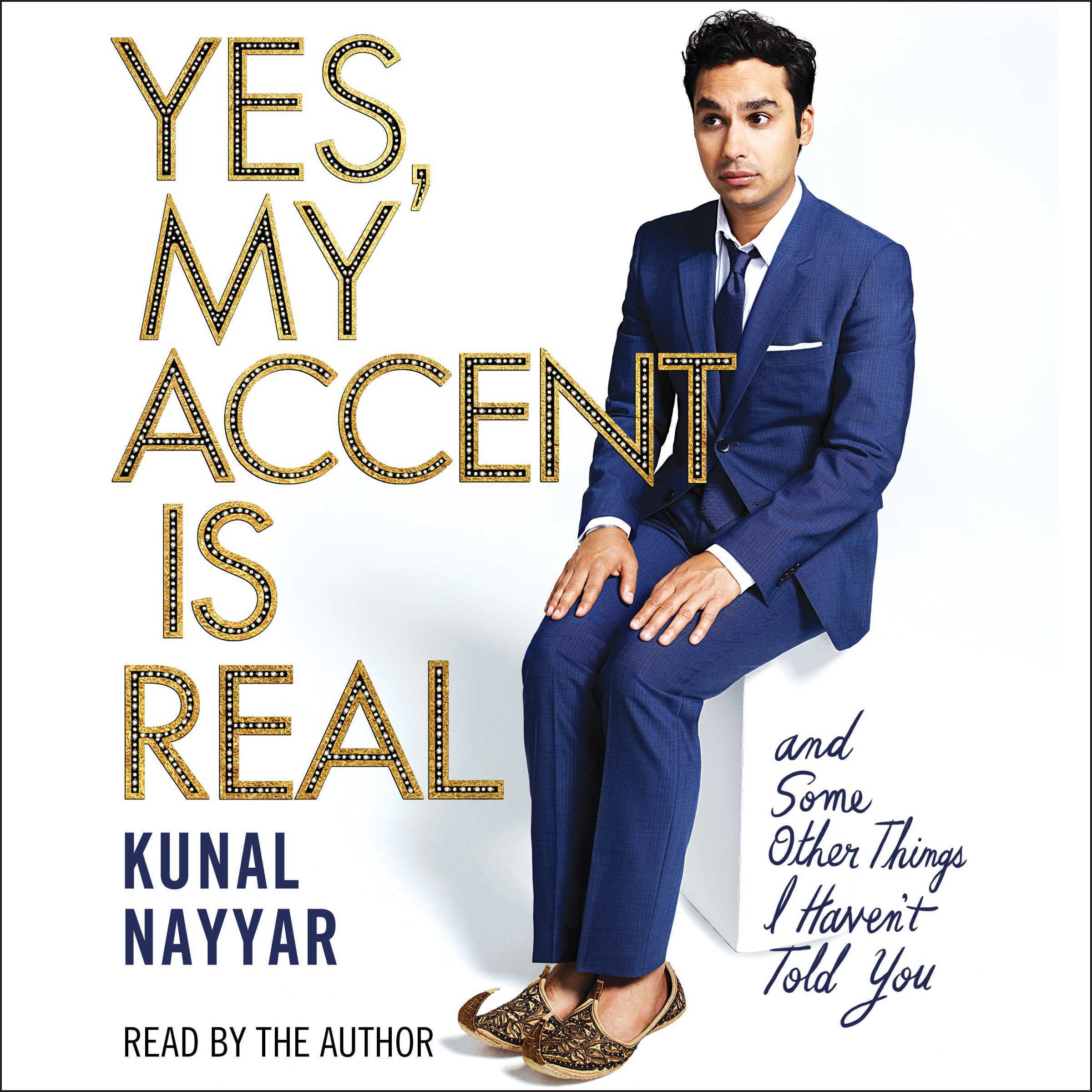 Printable Yes, My Accent Is Real Audiobook Cover Art