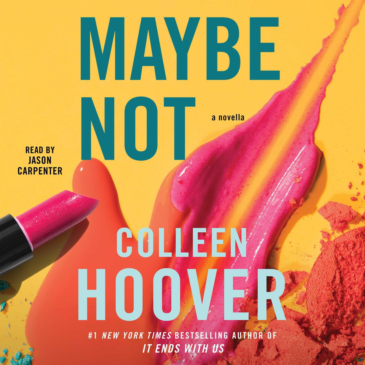 Printable Maybe Not Audiobook Cover Art