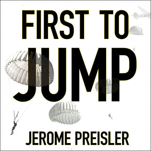 Printable First to Jump: How the Band of Brothers Was Aided by the Brave Paratroopers of Pathfinders Company Audiobook Cover Art