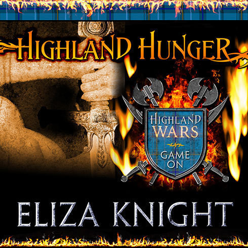 Printable Highland Hunger Audiobook Cover Art