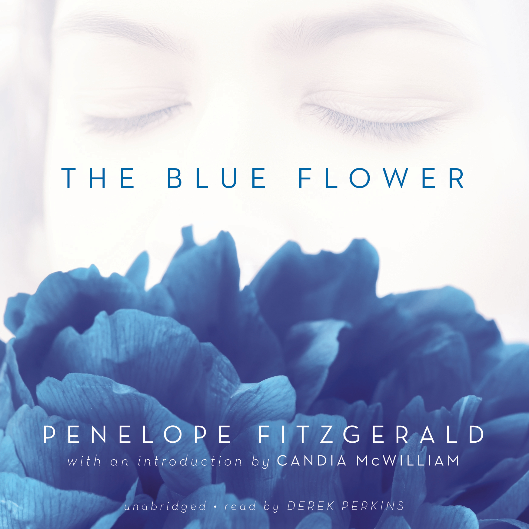 Printable The Blue Flower Audiobook Cover Art