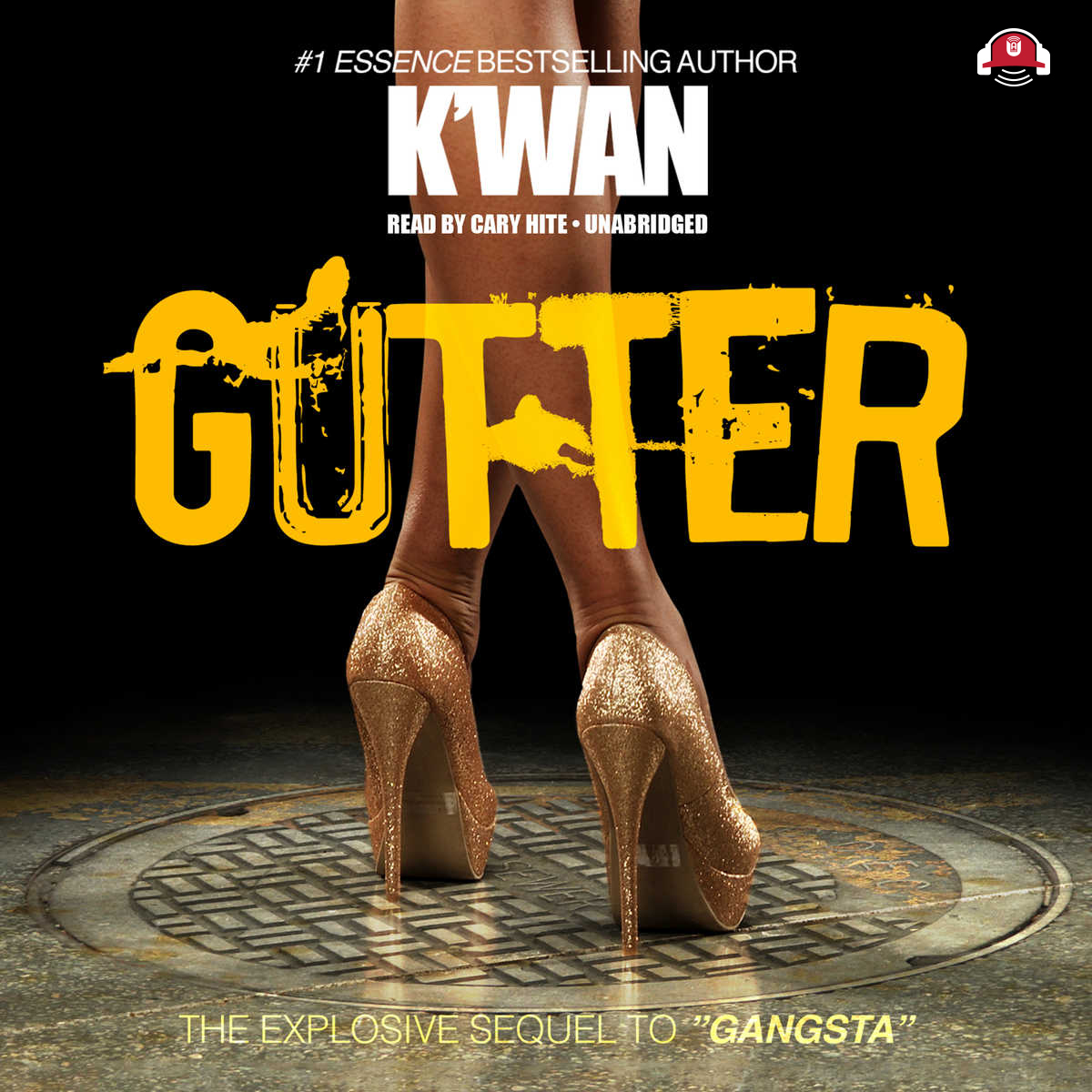 Printable Gutter Audiobook Cover Art