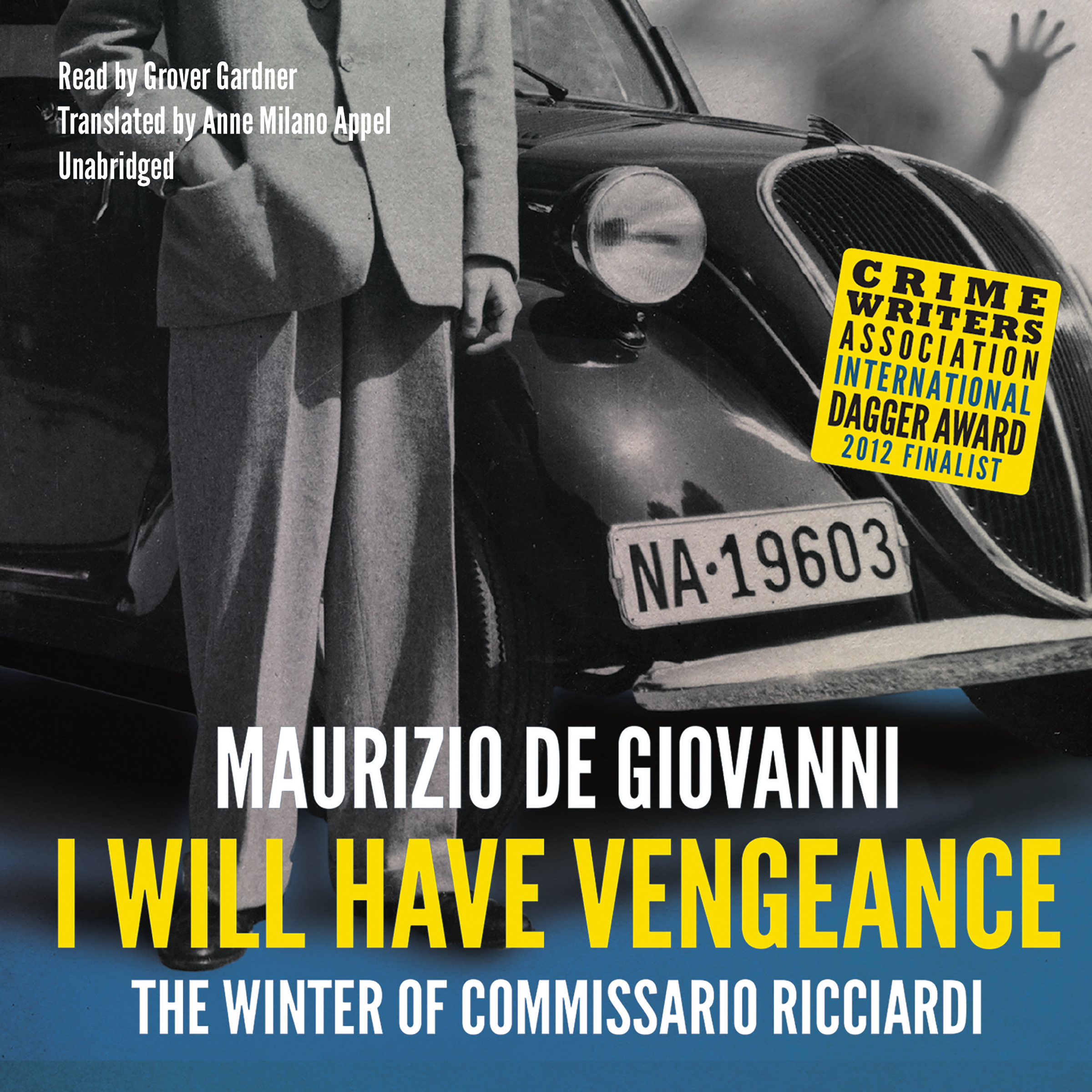 Printable I Will Have Vengeance: The Winter of Commissario Ricciardi  Audiobook Cover Art