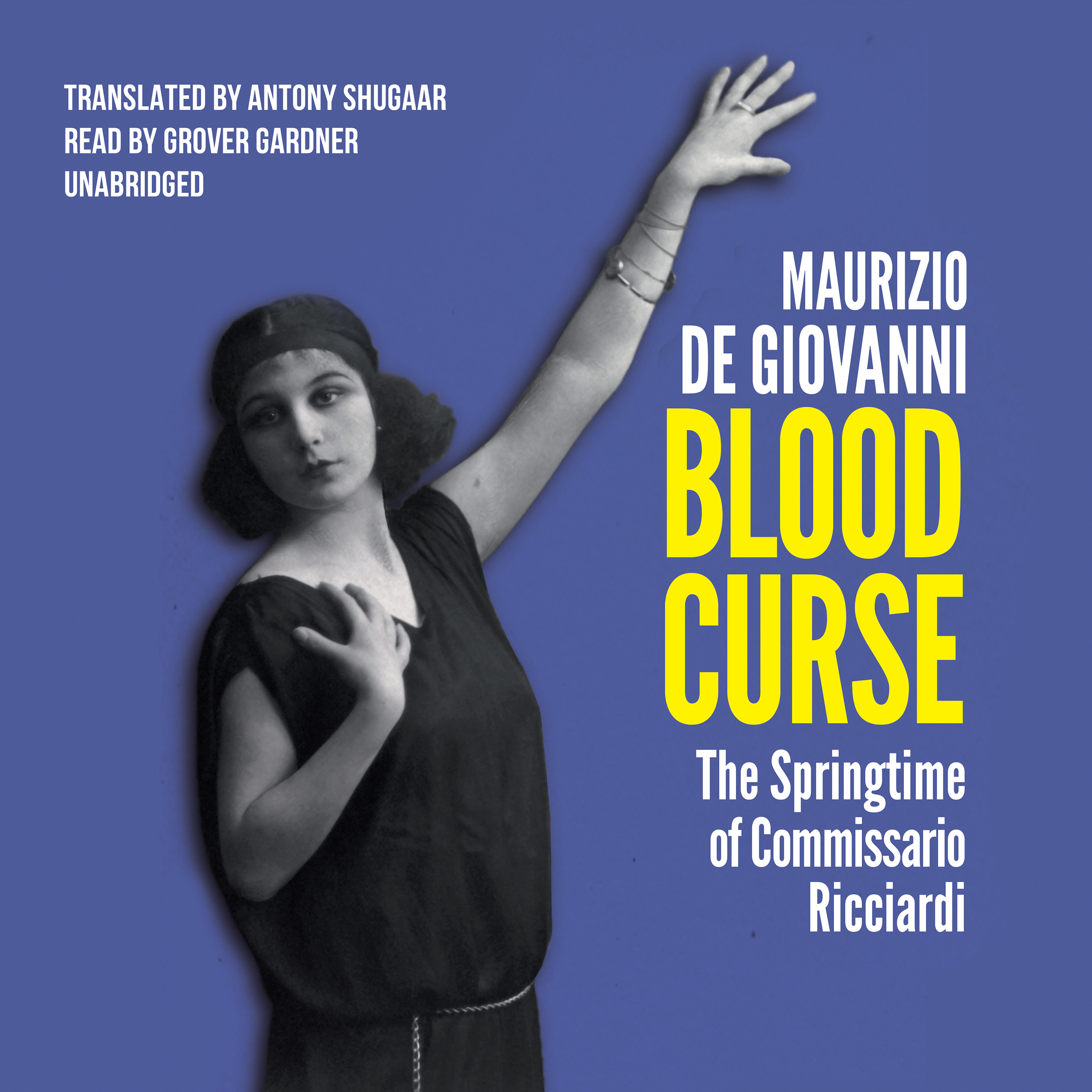 Printable Blood Curse: The Springtime of Commissario Ricciardi Audiobook Cover Art