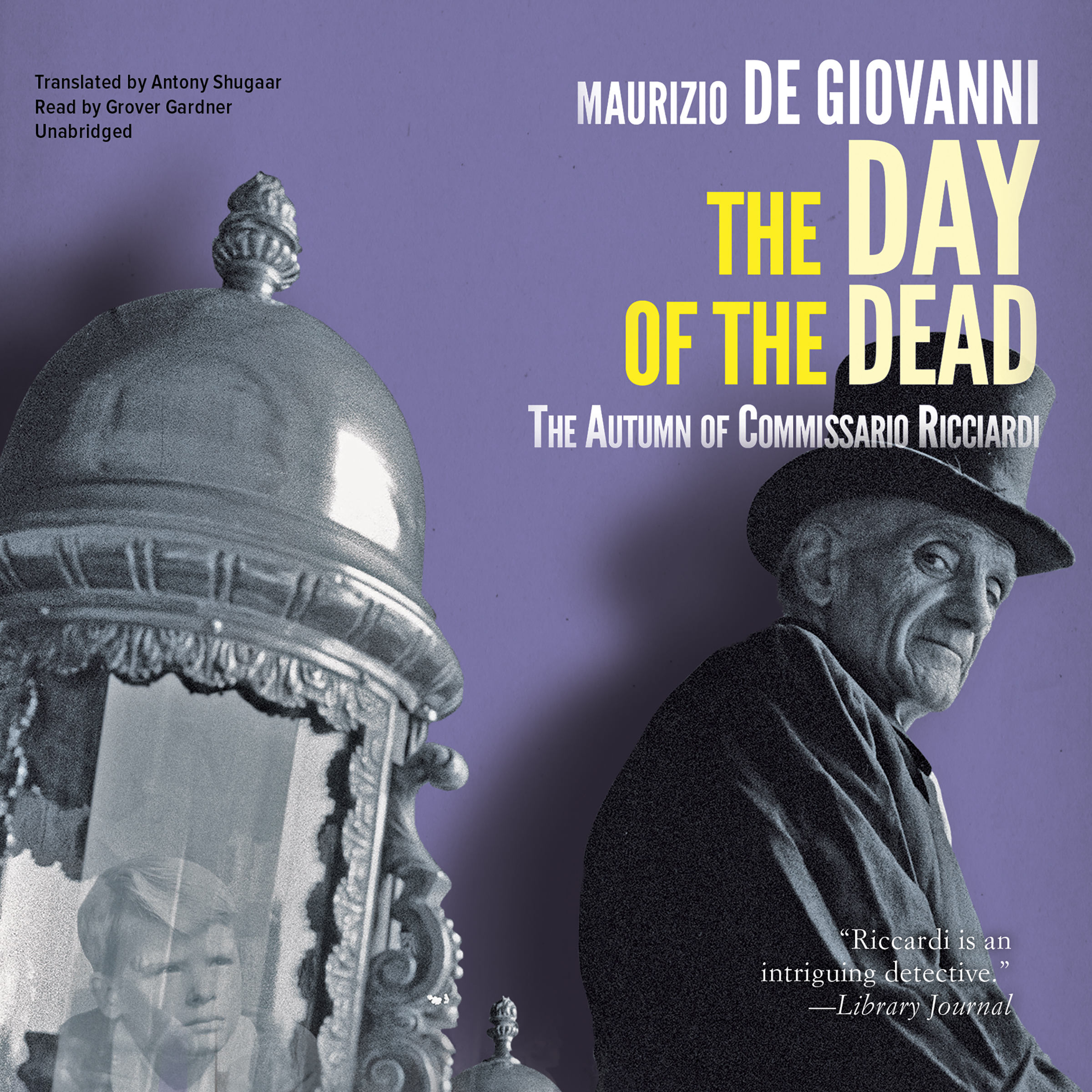 Printable The Day of the Dead: The Autumn of Commissario Ricciardi Audiobook Cover Art