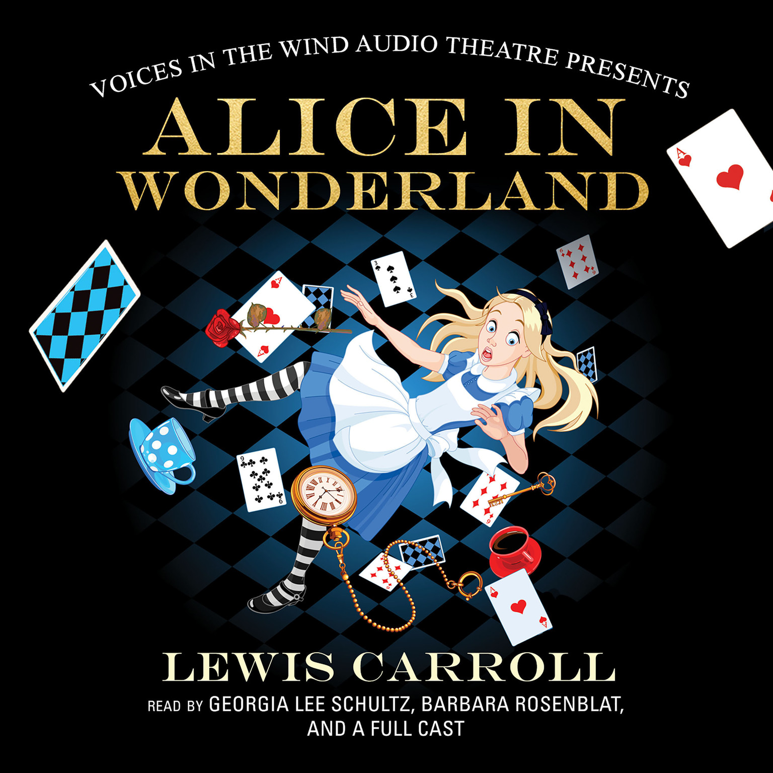 Printable Alice in Wonderland  Audiobook Cover Art