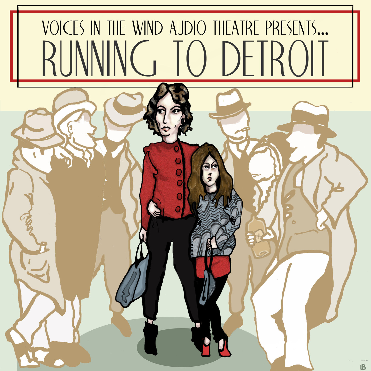 Printable Running to Detroit Audiobook Cover Art