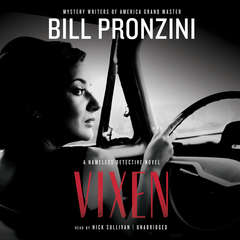 Vixen: A Nameless Detective Novel Audiobook, by Bill Pronzini