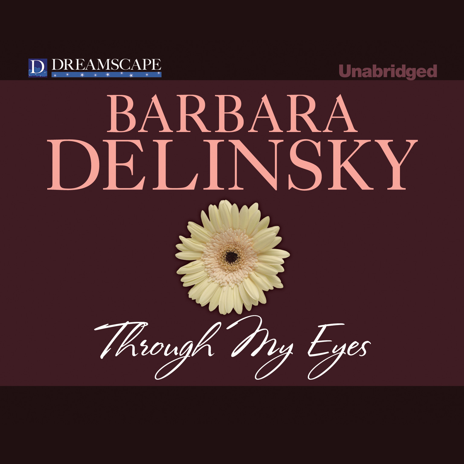 Printable Through My Eyes Audiobook Cover Art