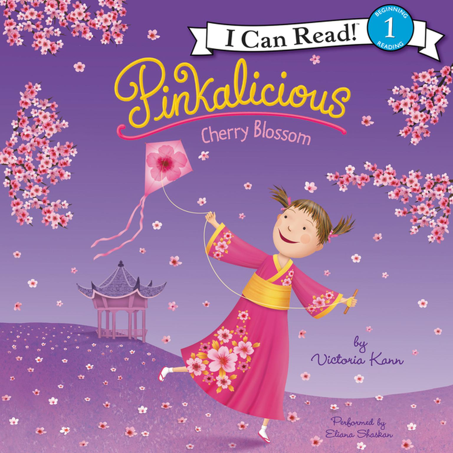 Printable Pinkalicious: Cherry Blossom Audiobook Cover Art