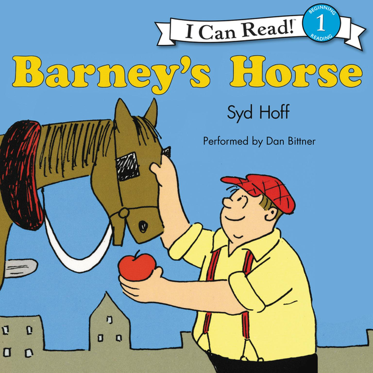 Printable Barney's Horse Audiobook Cover Art