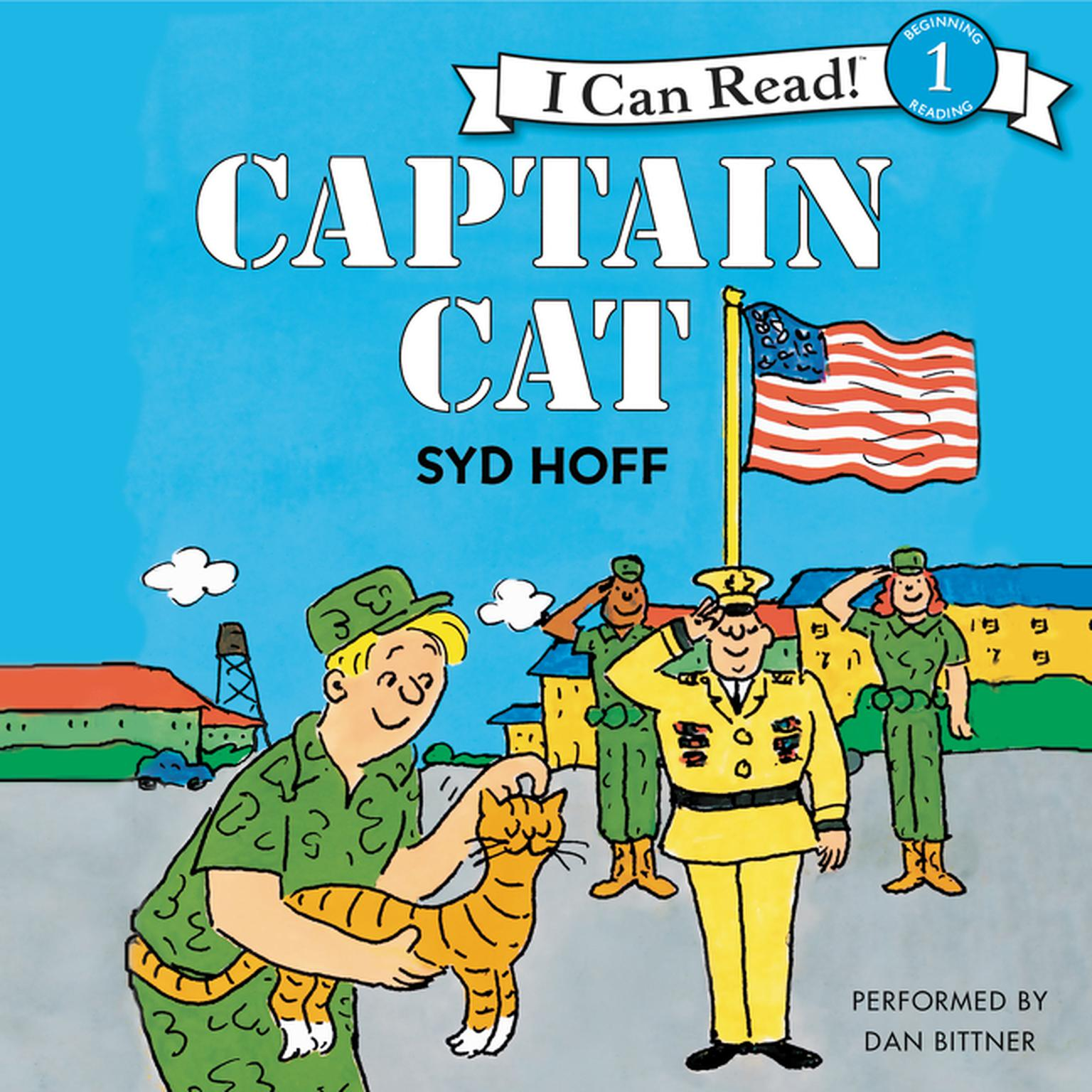 Printable Captain Cat Audiobook Cover Art