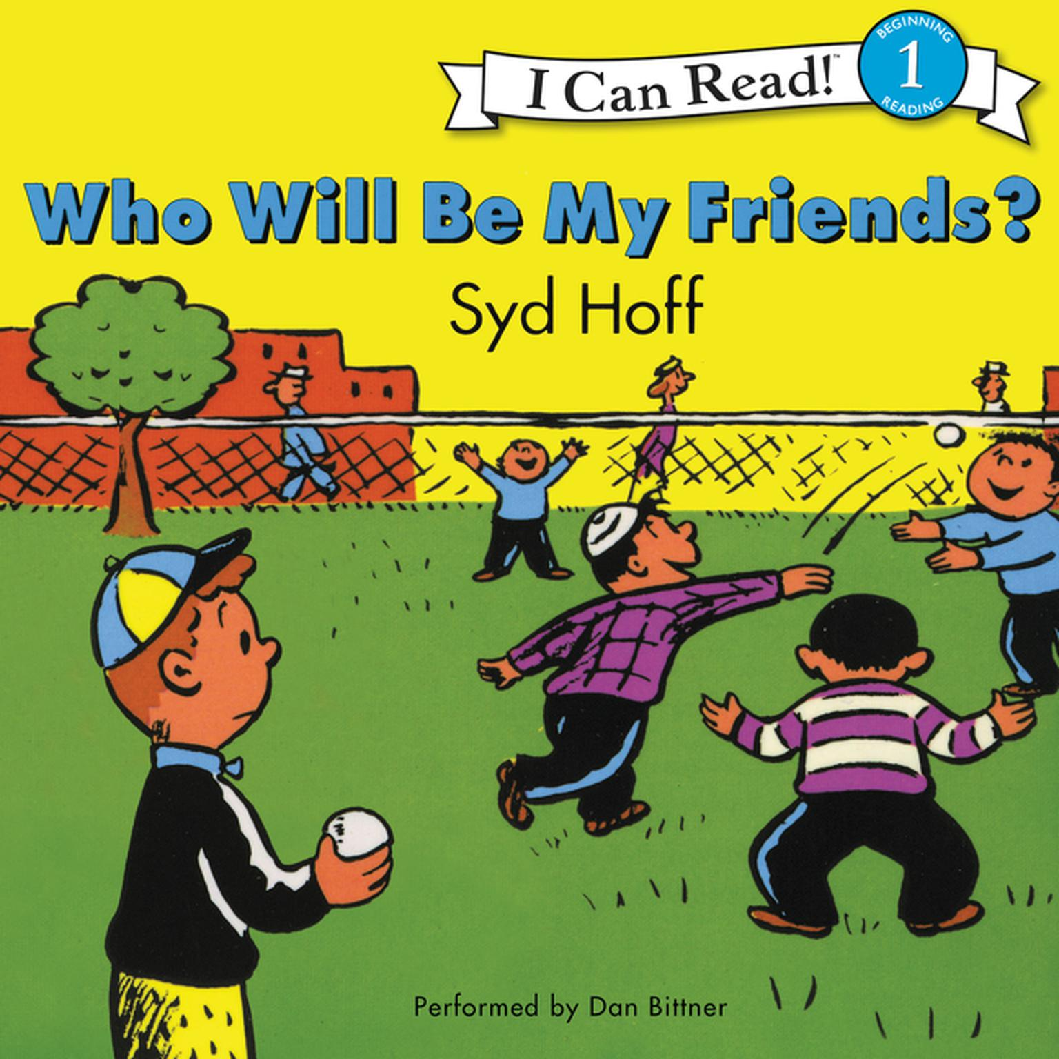 Printable Who Will Be My Friends? Audiobook Cover Art