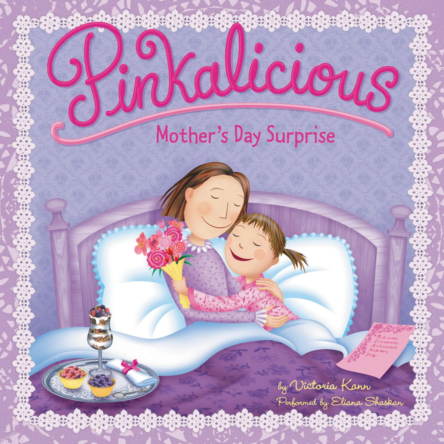 Printable Pinkalicious: Mother's Day Surprise Audiobook Cover Art