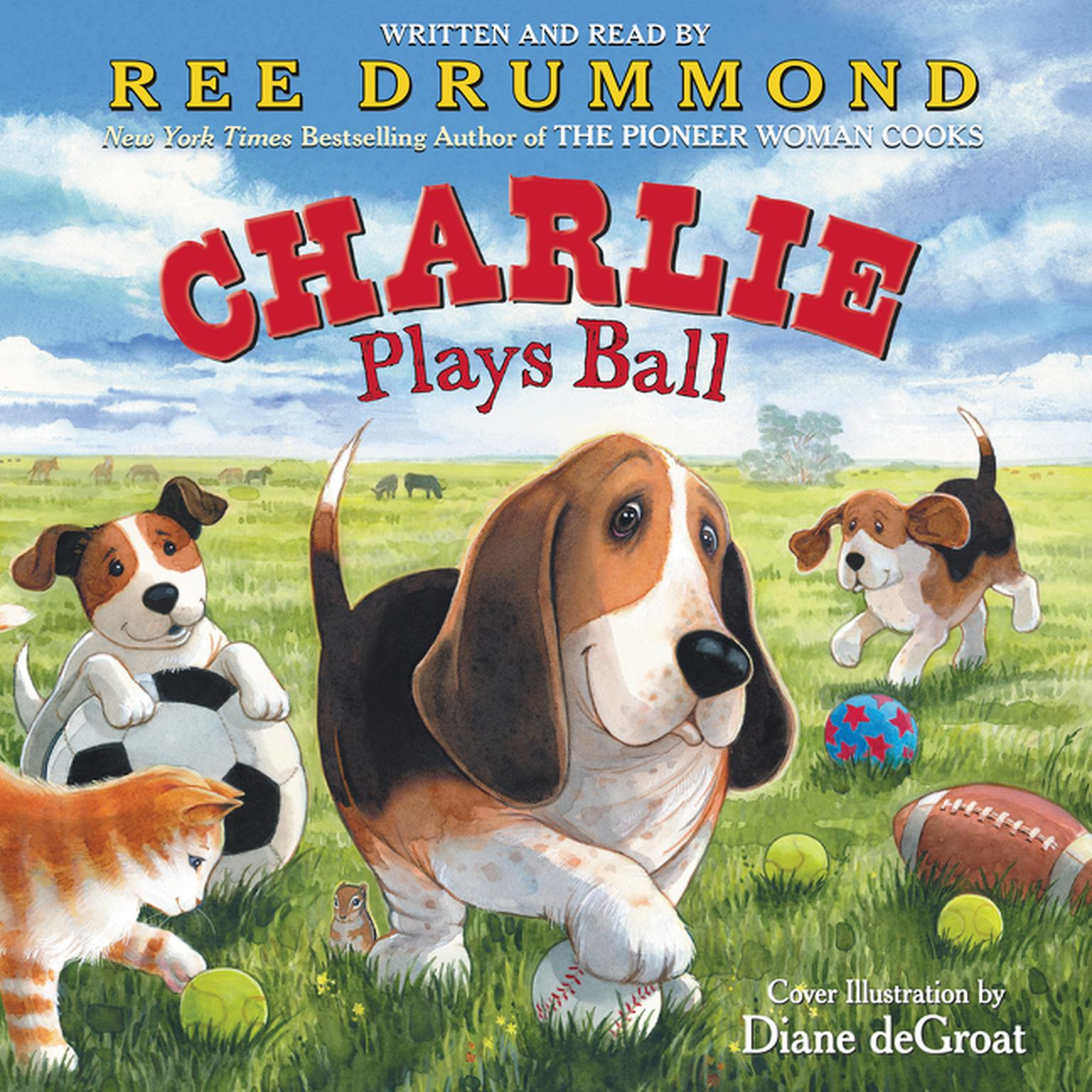 Printable Charlie Plays Ball Audiobook Cover Art