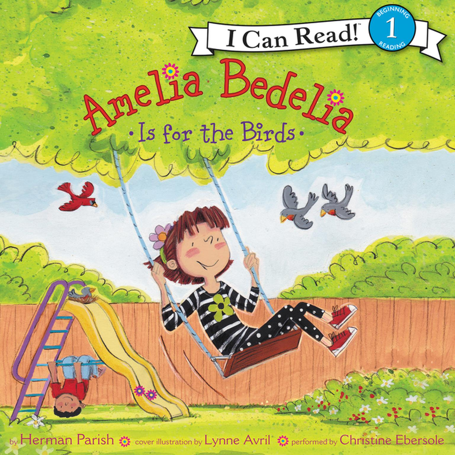 Printable Amelia Bedelia Is for the Birds Audiobook Cover Art