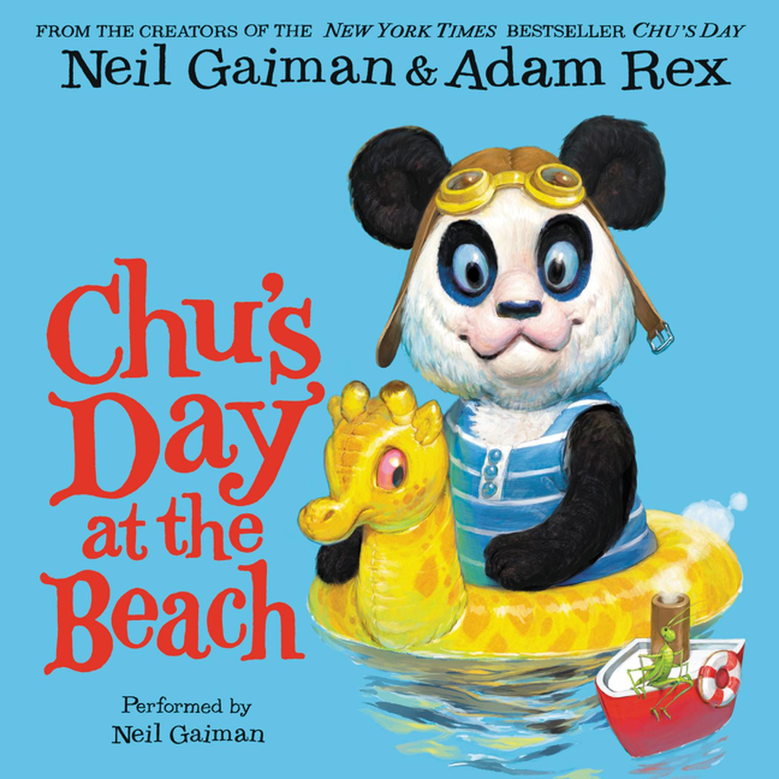 Printable Chu's Day at the Beach Audiobook Cover Art