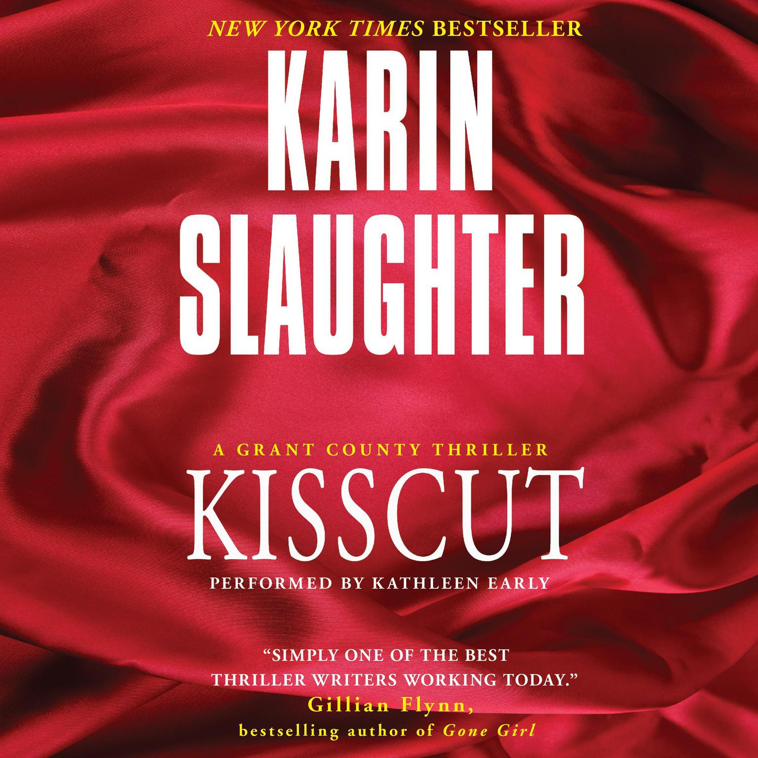 Printable Kisscut Audiobook Cover Art