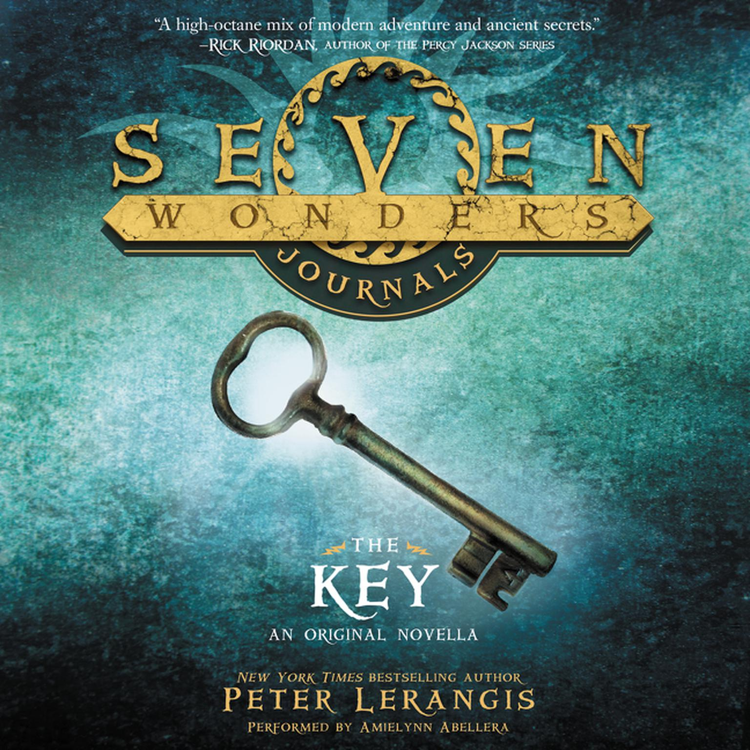 Printable Seven Wonders Journals: The Key Audiobook Cover Art