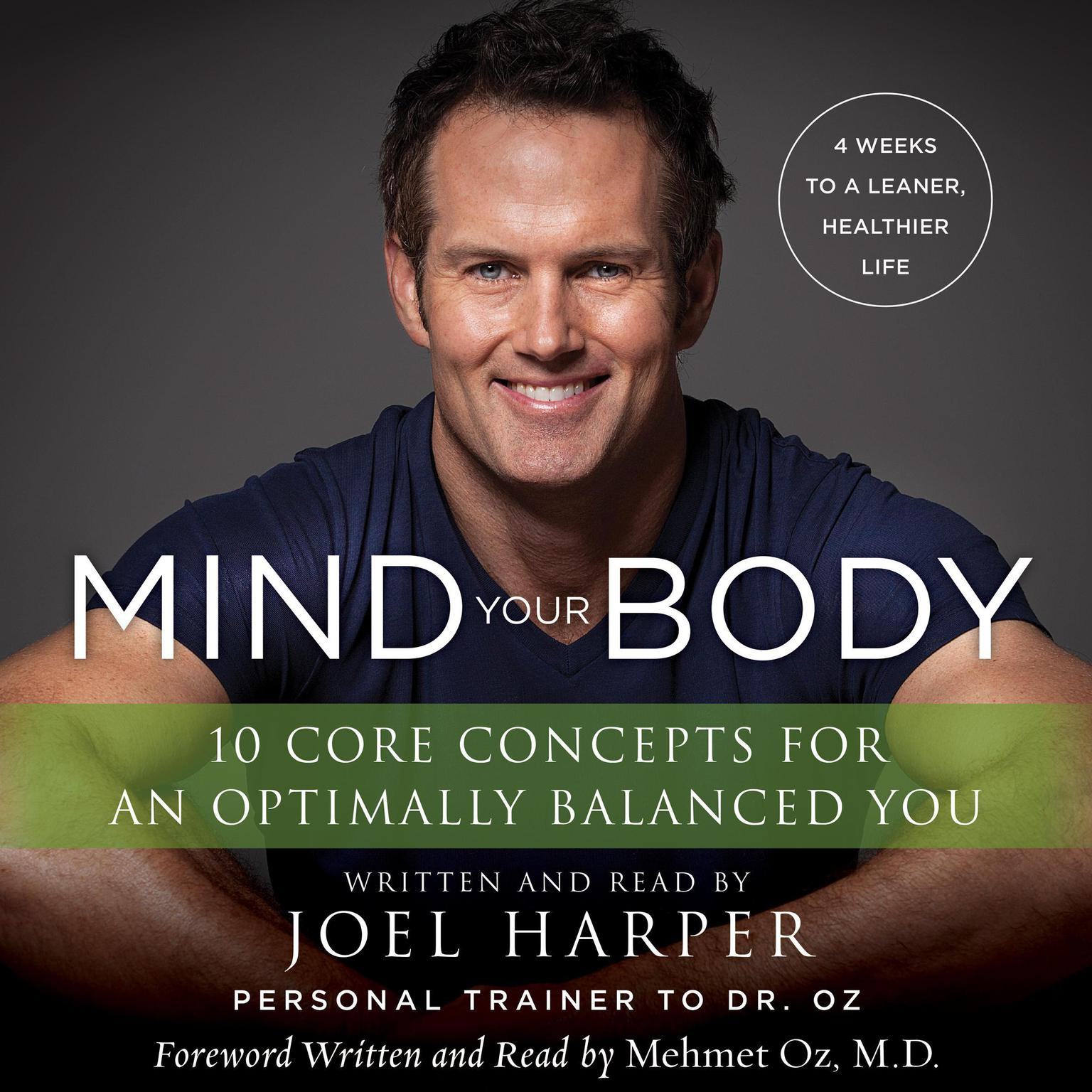 Printable Mind Your Body: 4 Weeks to a Leaner, Healthier Life Audiobook Cover Art