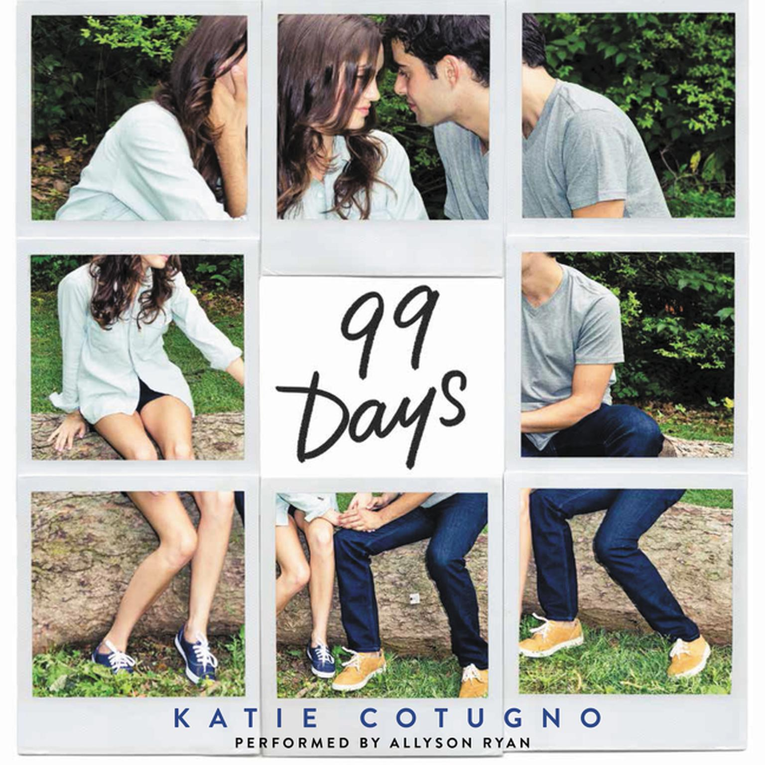 Printable 99 Days Audiobook Cover Art