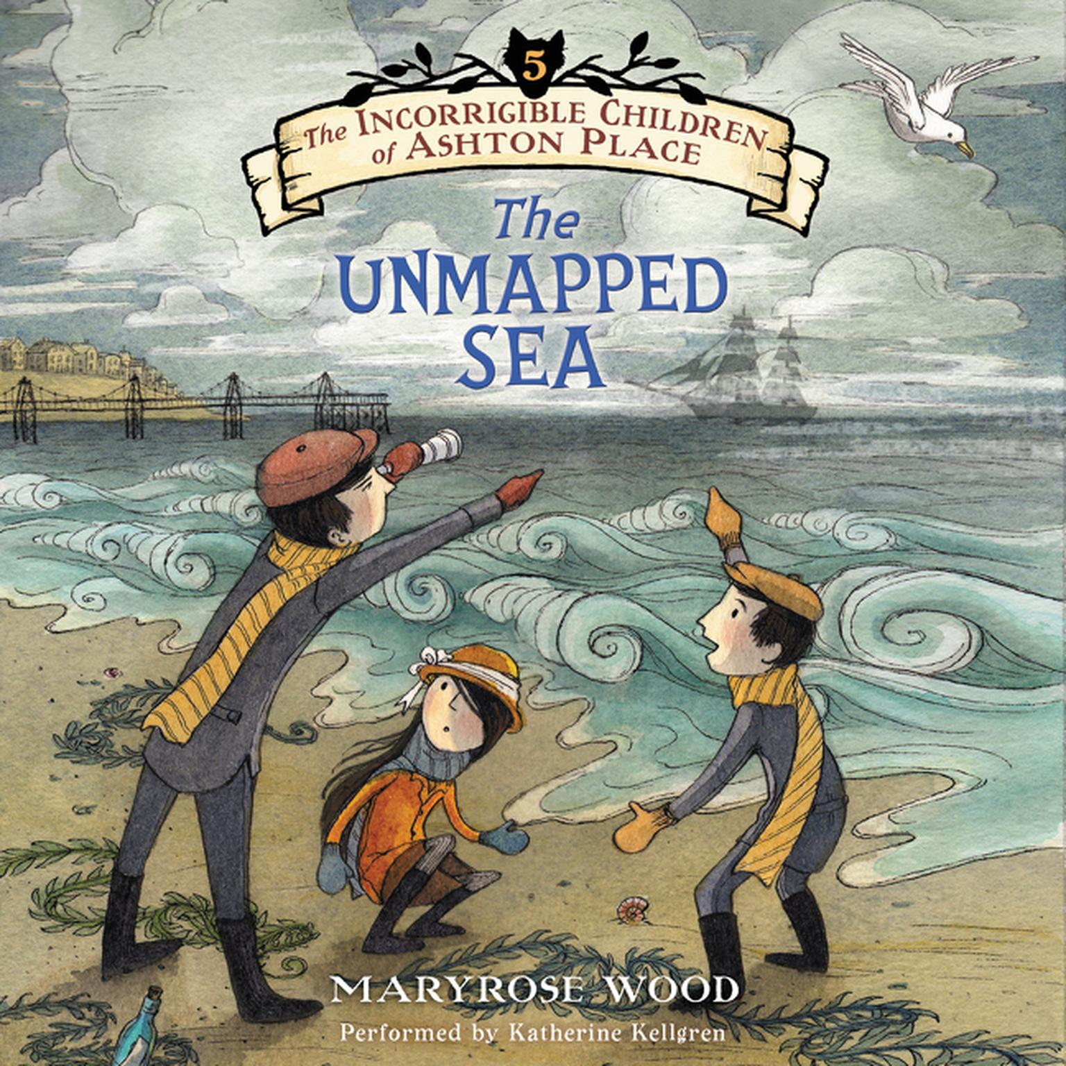 Printable The Unmapped Sea Audiobook Cover Art