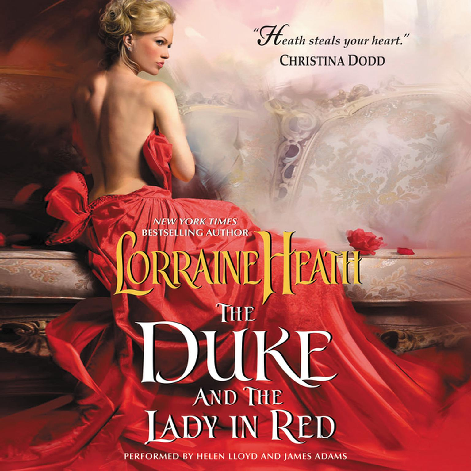 Printable The Duke and the Lady in Red Audiobook Cover Art