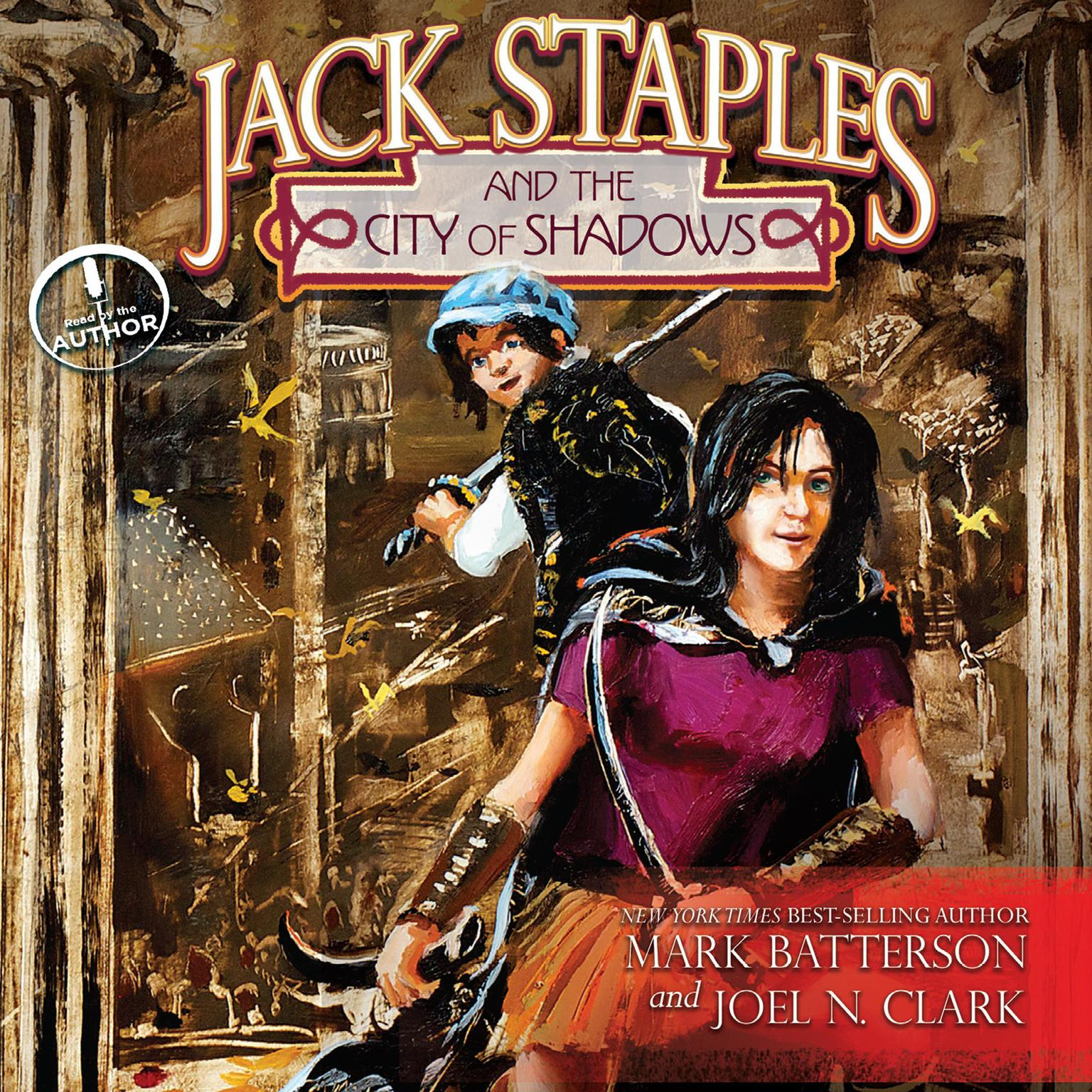 Printable Jack Staples and the City of Shadows Audiobook Cover Art