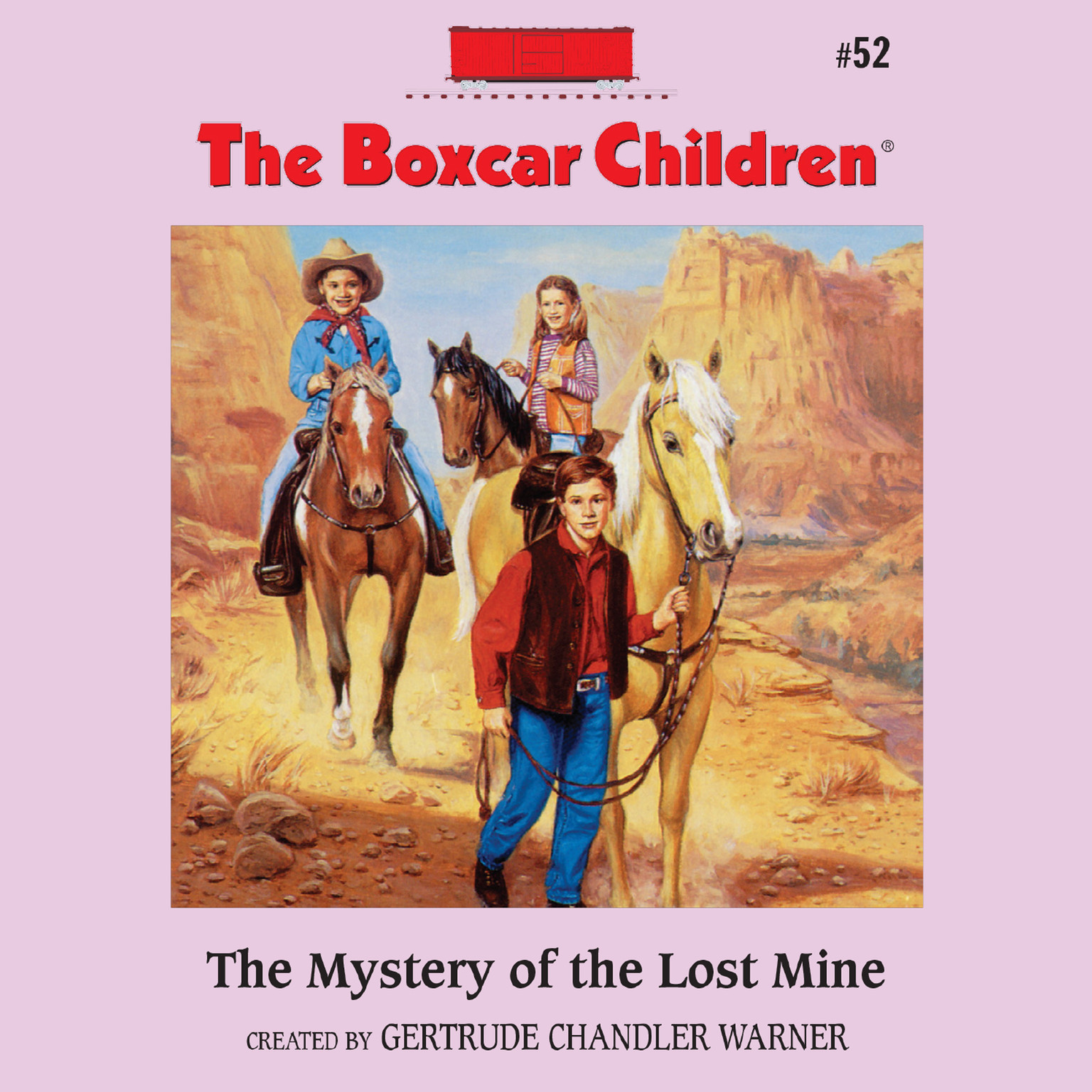 Printable The Mystery of the Lost Mine Audiobook Cover Art