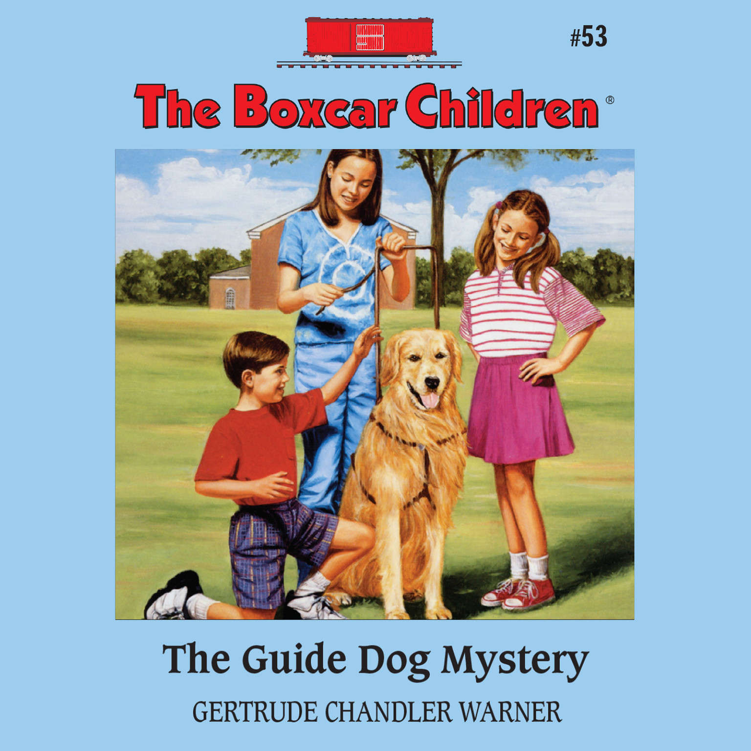 Printable The Guide Dog Mystery Audiobook Cover Art