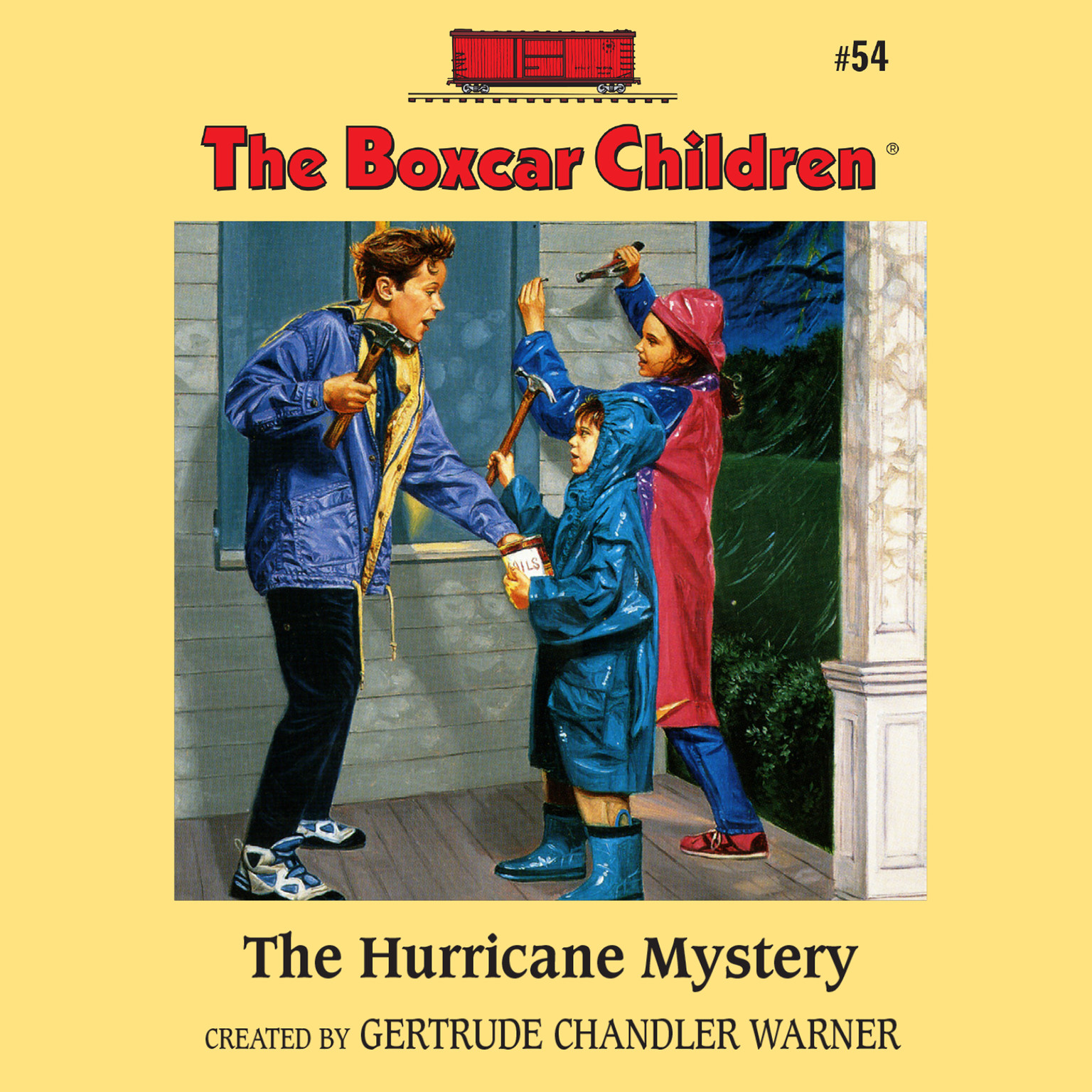 Printable The Hurricane Mystery Audiobook Cover Art