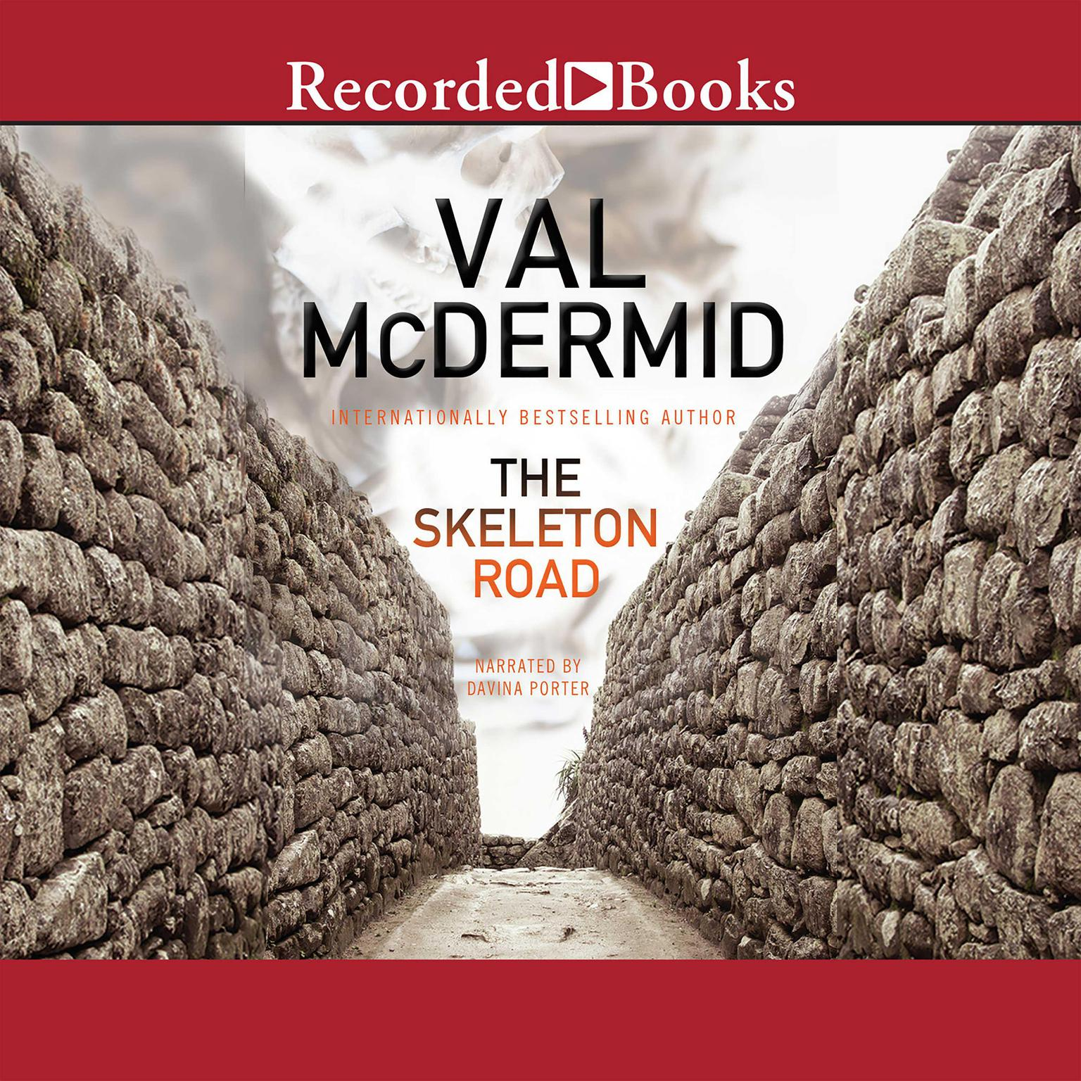 Printable The Skeleton Road Audiobook Cover Art