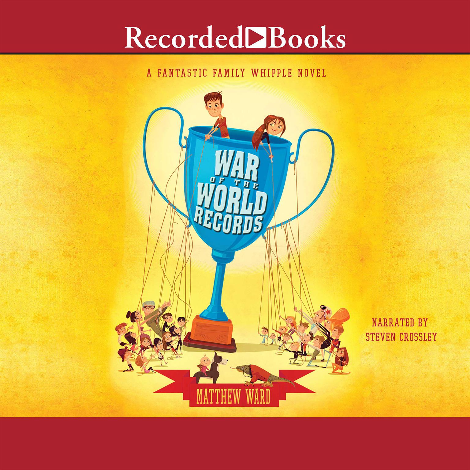 Printable War of the World Records Audiobook Cover Art