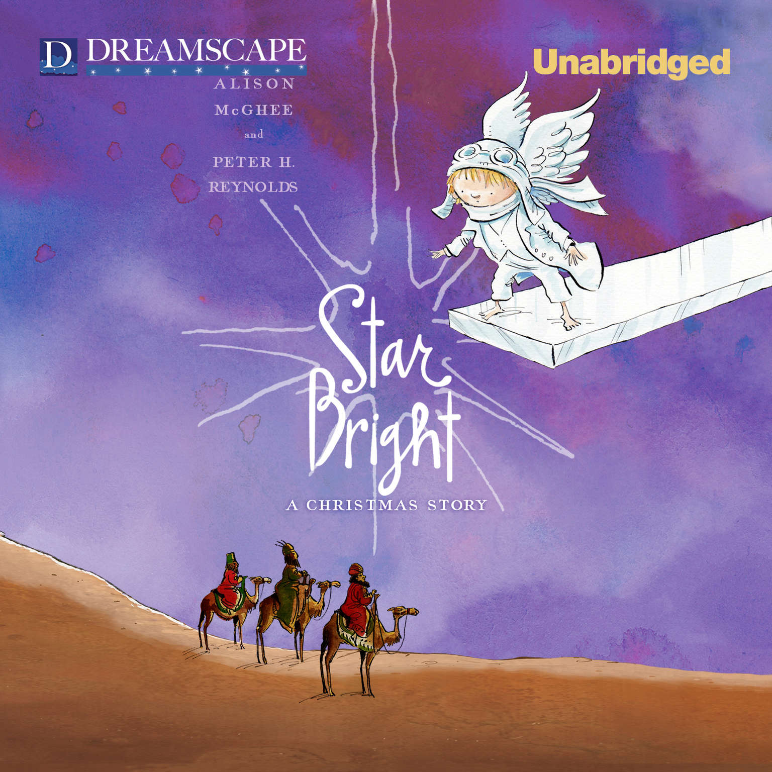 Printable Star Bright: A Christmas Story Audiobook Cover Art