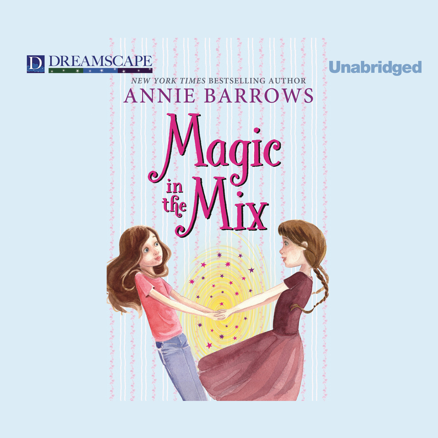 Printable Magic in the Mix Audiobook Cover Art