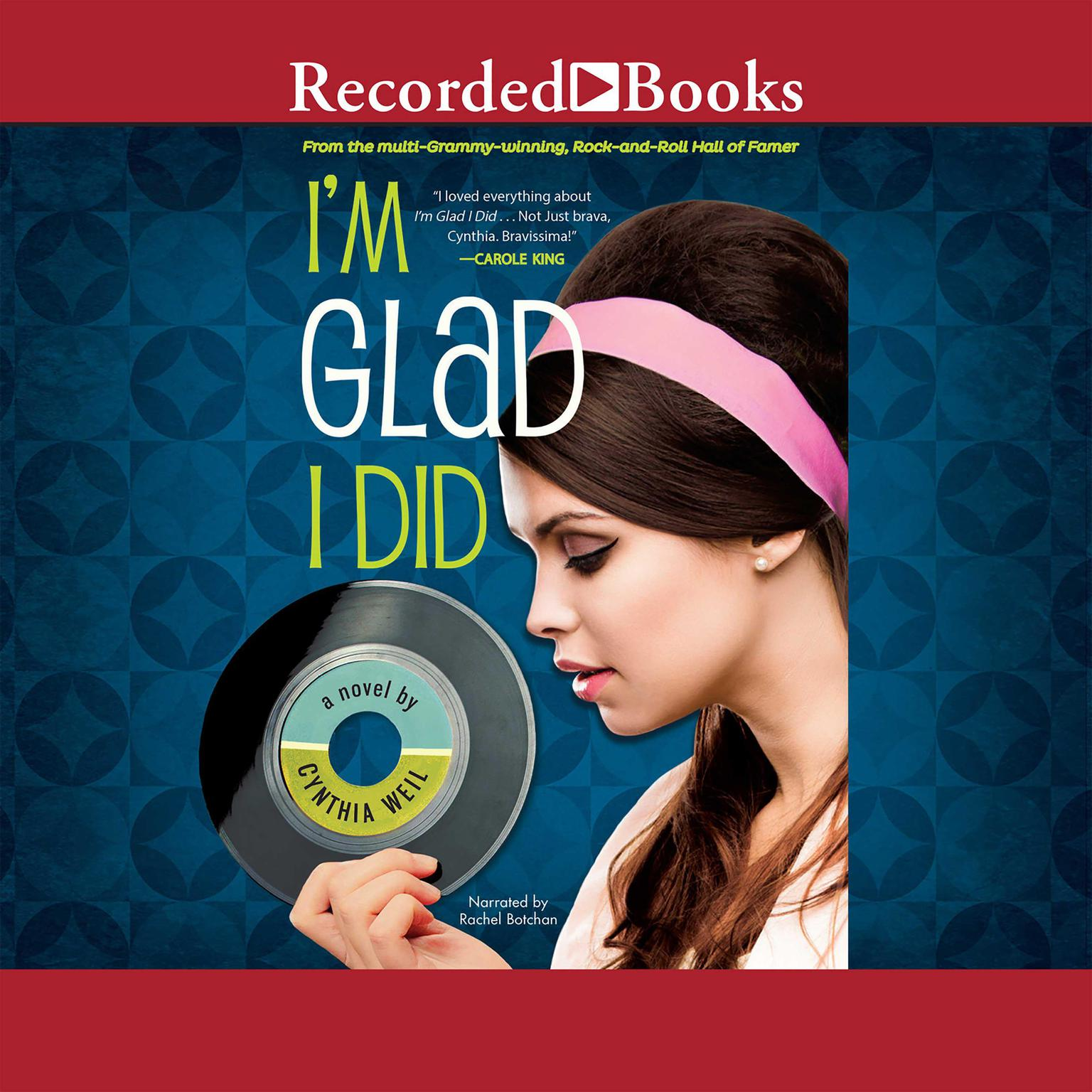 Printable I'm Glad I Did Audiobook Cover Art