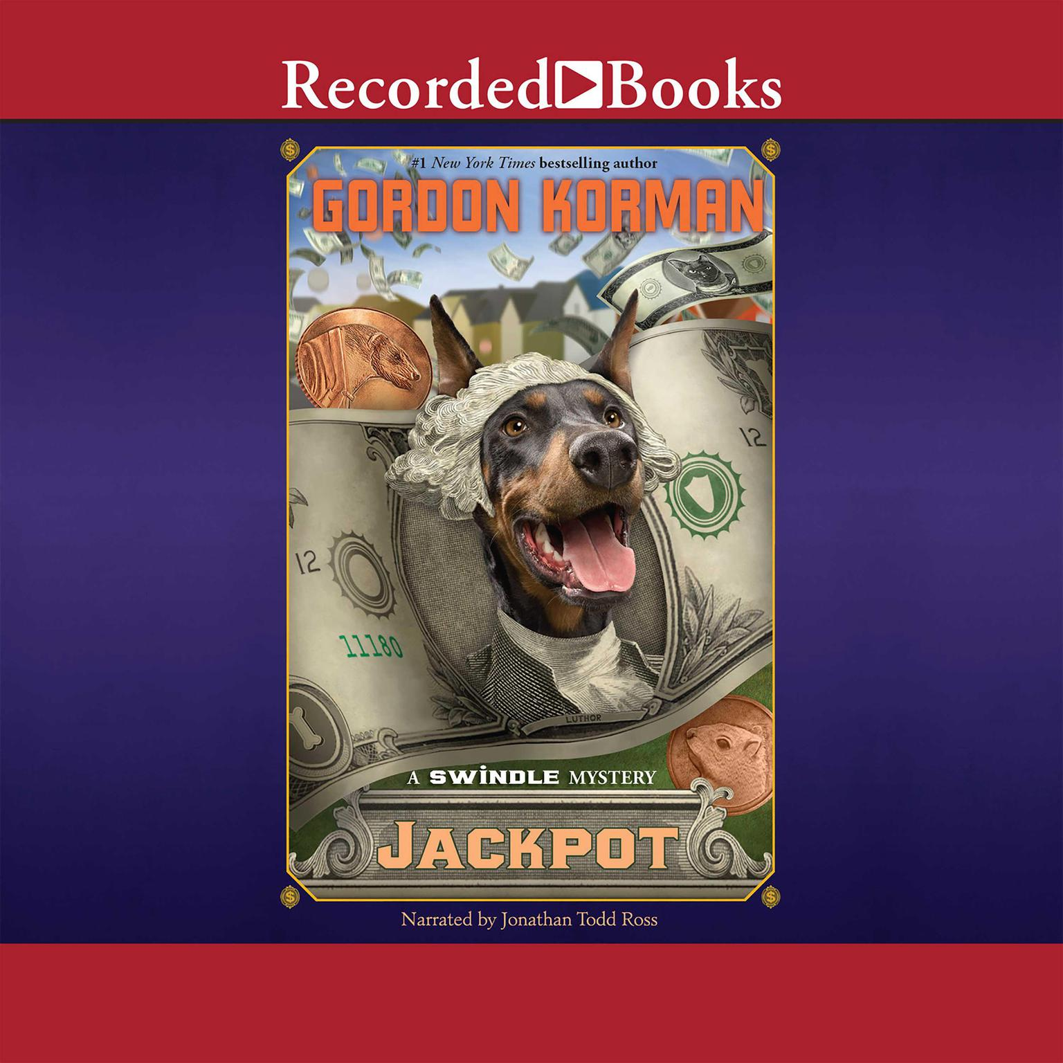 Printable Jackpot Audiobook Cover Art