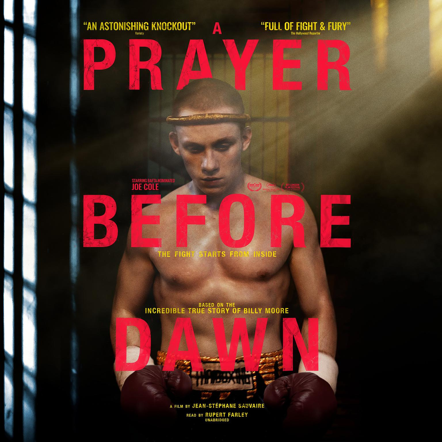 Printable A Prayer before Dawn: A Nightmare in Thailand Audiobook Cover Art
