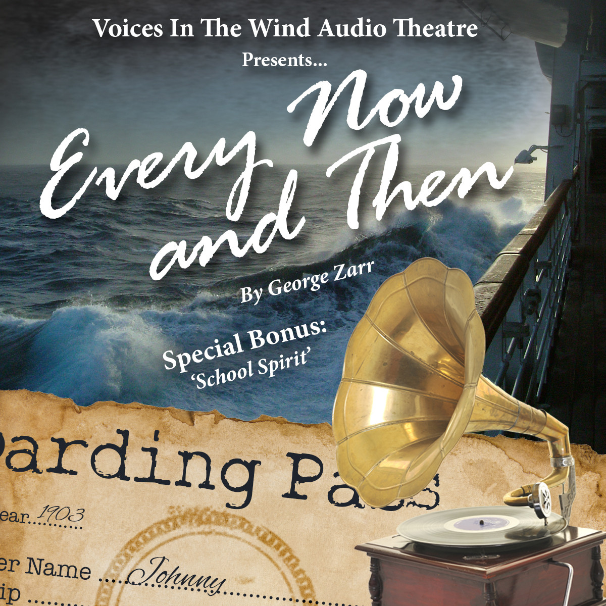 Printable Every Now and Then Audiobook Cover Art