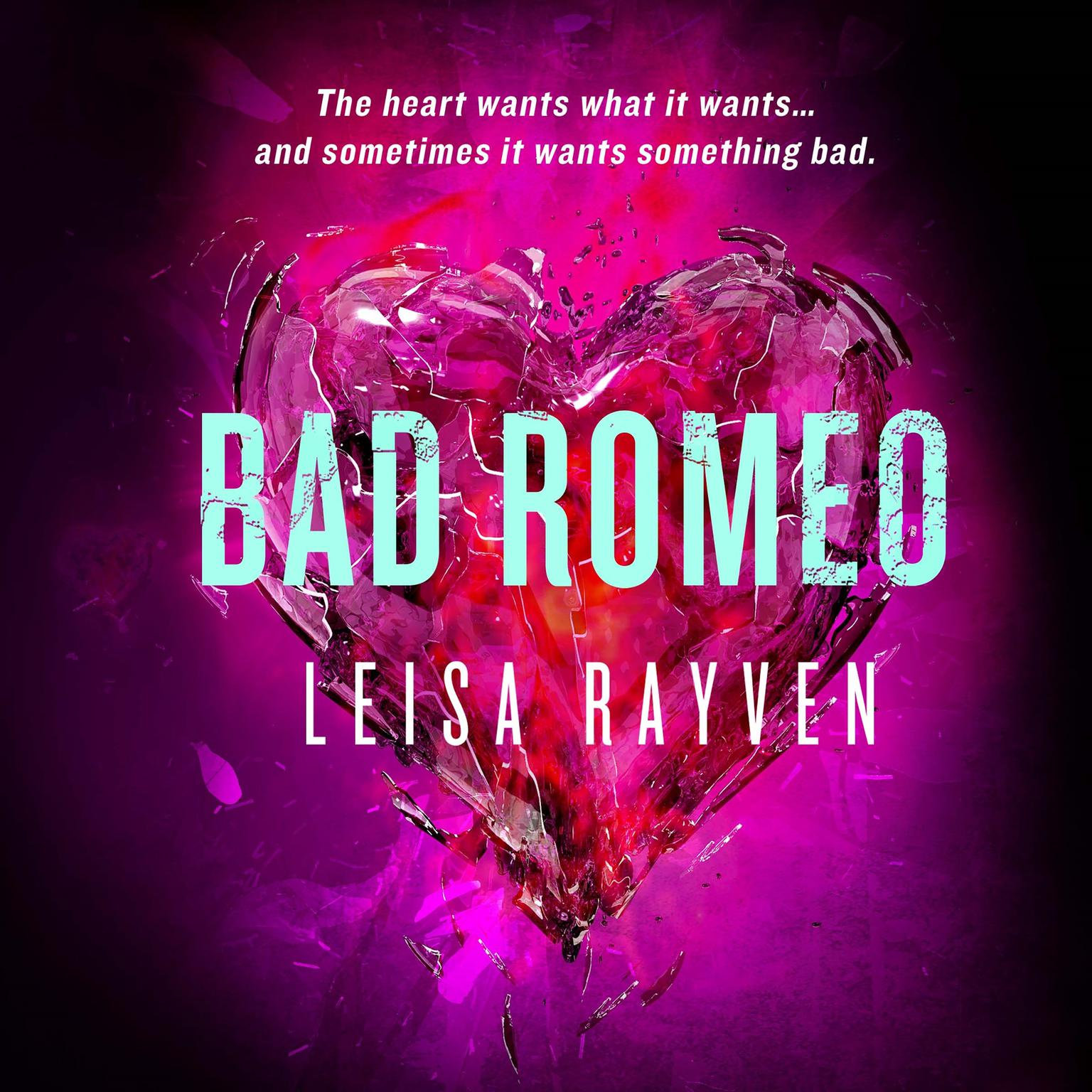 Printable Bad Romeo Audiobook Cover Art
